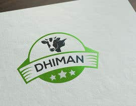 #43 para Design a Logo for Dhiman cattle feed with word Dhiman por Asifrbraj