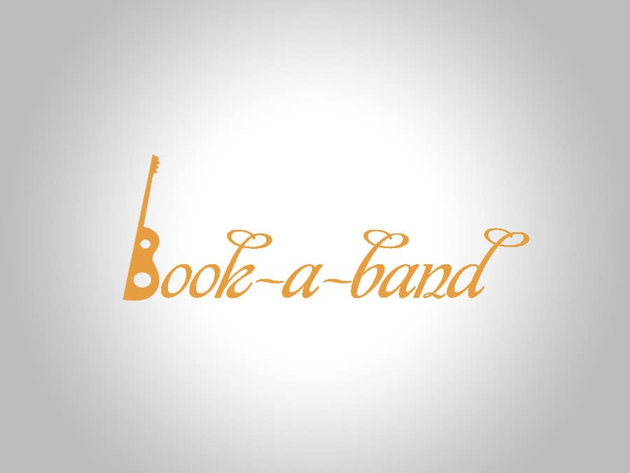 "Intrarea #254 pentru concursul ""Logo Design for book-a-band.be"""
