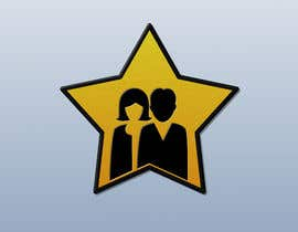 nº 34 pour Create simple logo of man & woman inside star par Legatus58