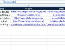 shishir0852 tarafından Data Entry from Website to spreadsheet için no 5