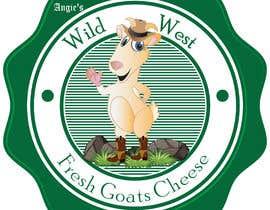 #26 สำหรับ Angies Wild West Goats Cheese. โดย yasantharuini