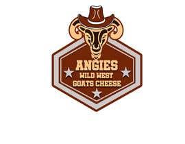 #25 สำหรับ Angies Wild West Goats Cheese. โดย NIBEDITA07