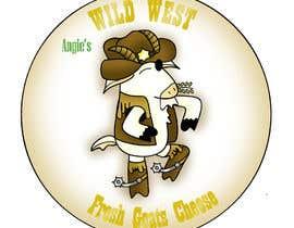 #33 สำหรับ Angies Wild West Goats Cheese. โดย zsordog