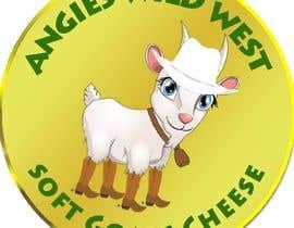 #38 สำหรับ Angies Wild West Goats Cheese. โดย webdesignerul