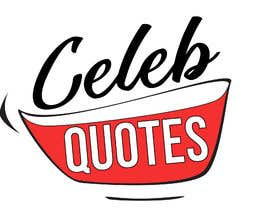 #12 para Design a Logo For Celeb Quote Website de FranFunariGD
