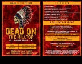#57 for I need concert design for poster and postcard flyer af savitamane212