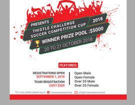 #36 untuk Digital and Printed Promotional Flyer - Thistle Challenge 2018 oleh mdtafsirkhan75