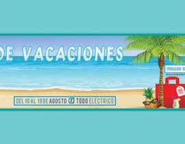 #53 para Banner Vacaciones por Mozammal190088