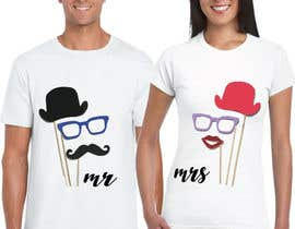 #42 for Trendy & Catchy Tshirt Screen Printing Design For Couple by kibriatoufa