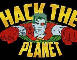 Nro 43 kilpailuun Cyberpunk Captain Planet Illustration käyttäjältä erickaeunicewebb