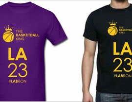 nº 43 pour Lakers Fan Shirt par Oamac