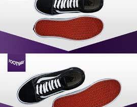 #25 untuk Design an clean, inspiring Facebook shoe ad Background image oleh gideonca7