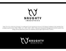#418 for Create a Logo / Name Style for NAUGHTY INDUSTRIES by Rajmonty