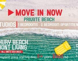 nº 129 pour Design beach residence teaser banner par maiishaanan