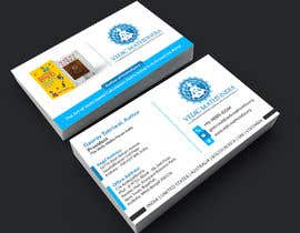 #45 para Design a Business Card for a Successful Author + Entrepreneur de Crea8ivitystudio