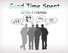 #56 for Gaming theme t-shirt design wanted – Good Times Spent with Friends by midoqaz