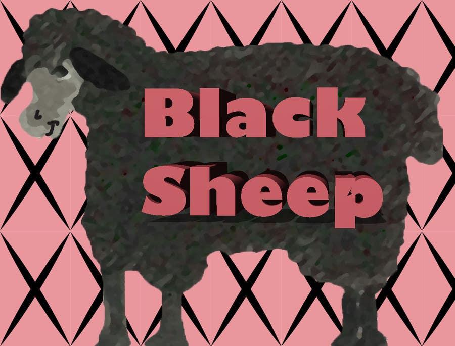 Inscrição nº 12 do Concurso para Graphic Design for Black Sheep Artwork FUN!