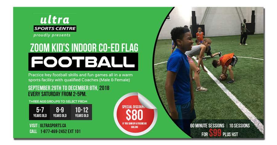 Конкурсная заявка №13 для Flag Football - Youth