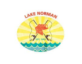 nº 57 pour Graphic Design - Create a Cool Lake Logo par ColeHogan