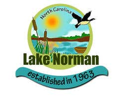 #84 for Graphic Design - Create a Cool Lake Logo by alexandracol
