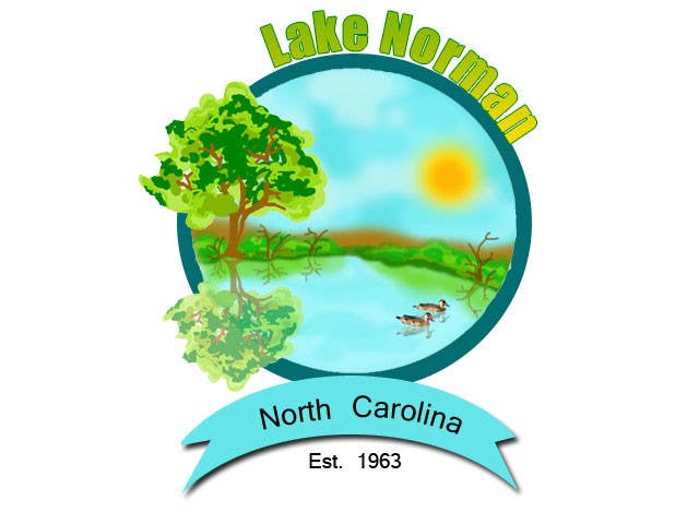 Bài tham dự cuộc thi #110 cho Graphic Design - Create a Cool Lake Logo