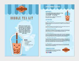 lookandfeel2016 tarafından Crafky Bubble Tea Kit Instruction Flyer için no 80