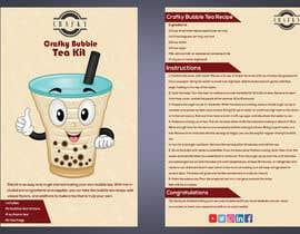 noorkonica tarafından Crafky Bubble Tea Kit Instruction Flyer için no 61