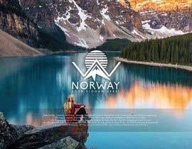 gilopez tarafından Logo Design - Mountain + Sun/Circle. For Travel Norway için no 96