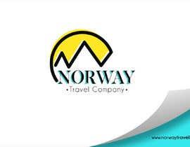 Jokey05 tarafından Logo Design - Mountain + Sun/Circle. For Travel Norway için no 93