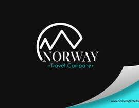Jokey05 tarafından Logo Design - Mountain + Sun/Circle. For Travel Norway için no 94