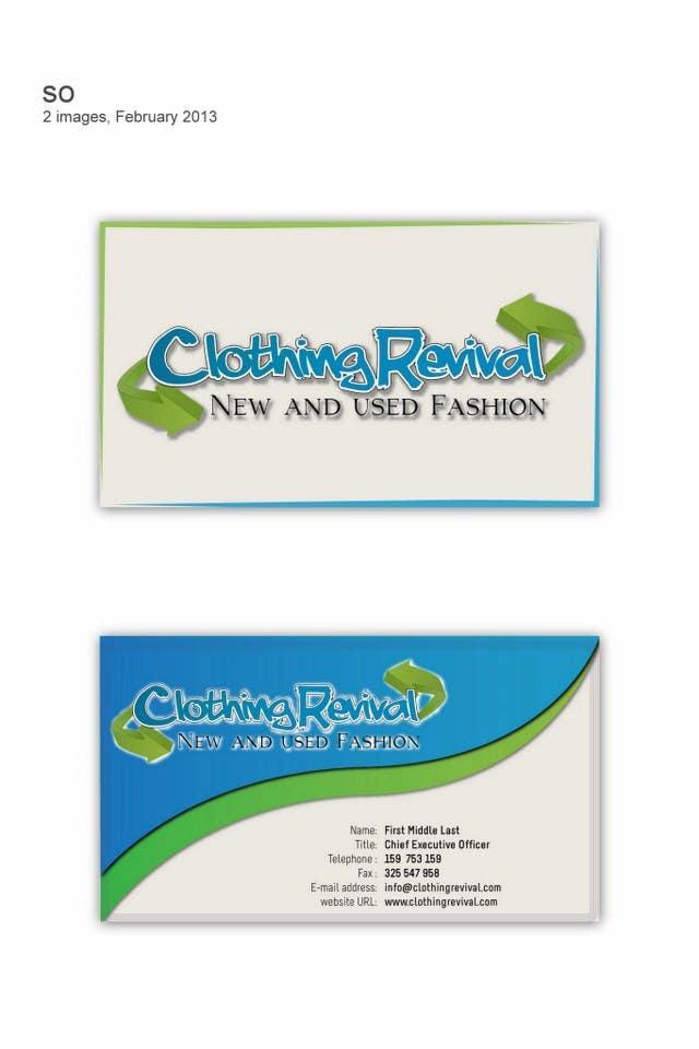 Inscrição nº                                         5                                      do Concurso para                                         Advertisement Design for Clothing Revival
