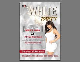 #53 pentru Design a Flyer all white party ATL de către tumpazarif157