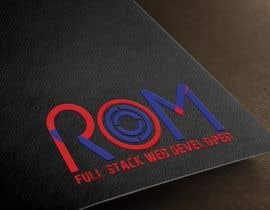 #47 for Design a logo : ROM by rihan1997