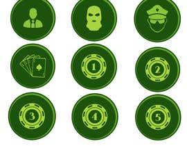 Nro 29 kilpailuun Circular icon buttons for software application käyttäjältä Shoman1