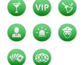 #23 for Circular icon buttons for software application af miladinka1