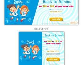 #85 para Back to School Banners por mindlogicsmdu