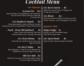 nº 22 pour URGENT: Re-design bar menus par yuliabintani