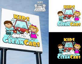 #54 for Create logo for Kids Clean Cars af Attebasile