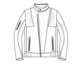 nº 11 pour Creation of a leather motorcycle jacket par anetna26
