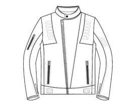 nº 12 pour Creation of a leather motorcycle jacket par anetna26