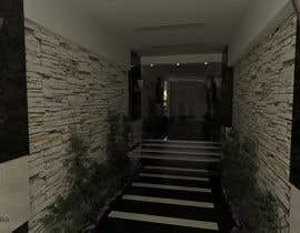 #17 for Interior design entry hall private house/ stairway by engezzomar