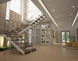 #20 for Interior design entry hall private house/ stairway by fridaanantya