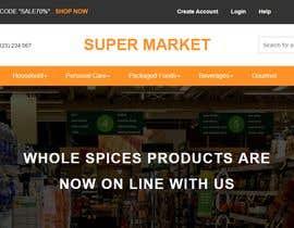Nro 26 kilpailuun Exciting eCommerce Design/Redesign käyttäjältä IstiaqNirab