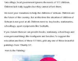 #1 untuk Script for Charity Crowdfunding Video - Children in The Mountain oleh Dineshaps
