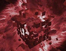 #28 for I need a exploding sci-fi cube in space by frcolantonio