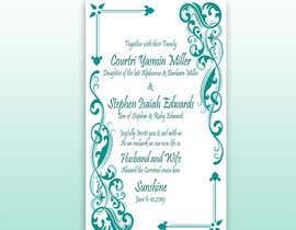 #30 cho Stephon's Wedding bởi LamiyaMeem