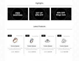 sherazi2592님에 의한 Design (not build) me a website for a Jewellery Company을(를) 위한 #10