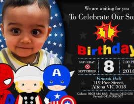#15 для I need an inviation card design for my son's first Birthday от marianayepez