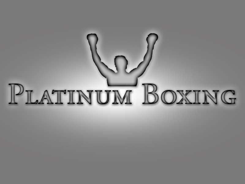 Inscrição nº 238 do Concurso para Logo Design for Platinum Boxing