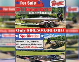 "#39 for need poster today for selling boat "" used boat "" need inspiration av rakibul151752"